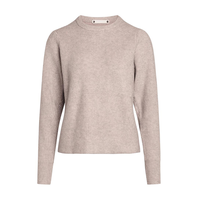 Co'couture Co'Couture Row puff sweater beige