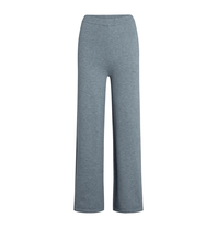 Co'couture Co'Couture Camron knit broek grijs
