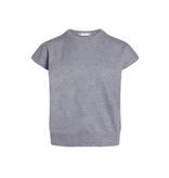Co'couture Co'Couture Camron boxy sweater grijs