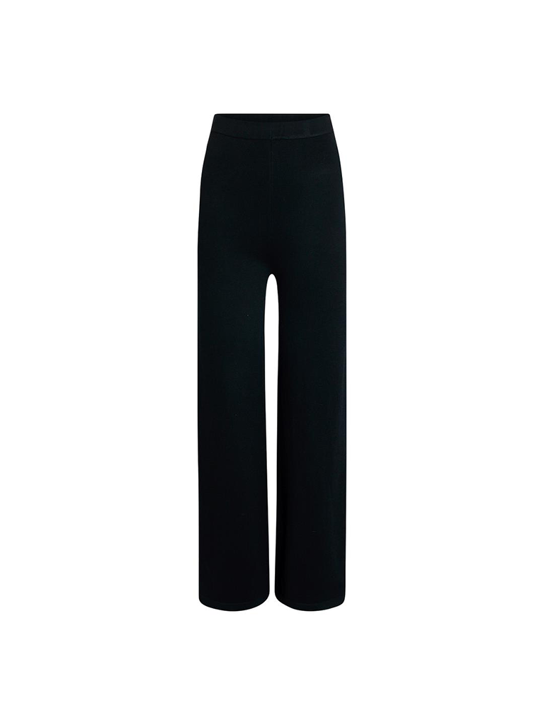 Co'couture Co'Couture Camron knit broek zwart