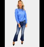 Co'couture Co'Couture Coriloris Box blouse blauw