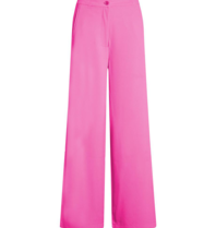 Co'couture Co'Couture flash wijde pantalon roze