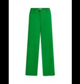 Co'couture Co'Couture flash wijde pantalon groen