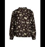 Co'couture Co'Couture Alyssa blouse met print zwart