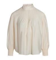 Co'couture Co'Couture Callum pintuck blouse creme