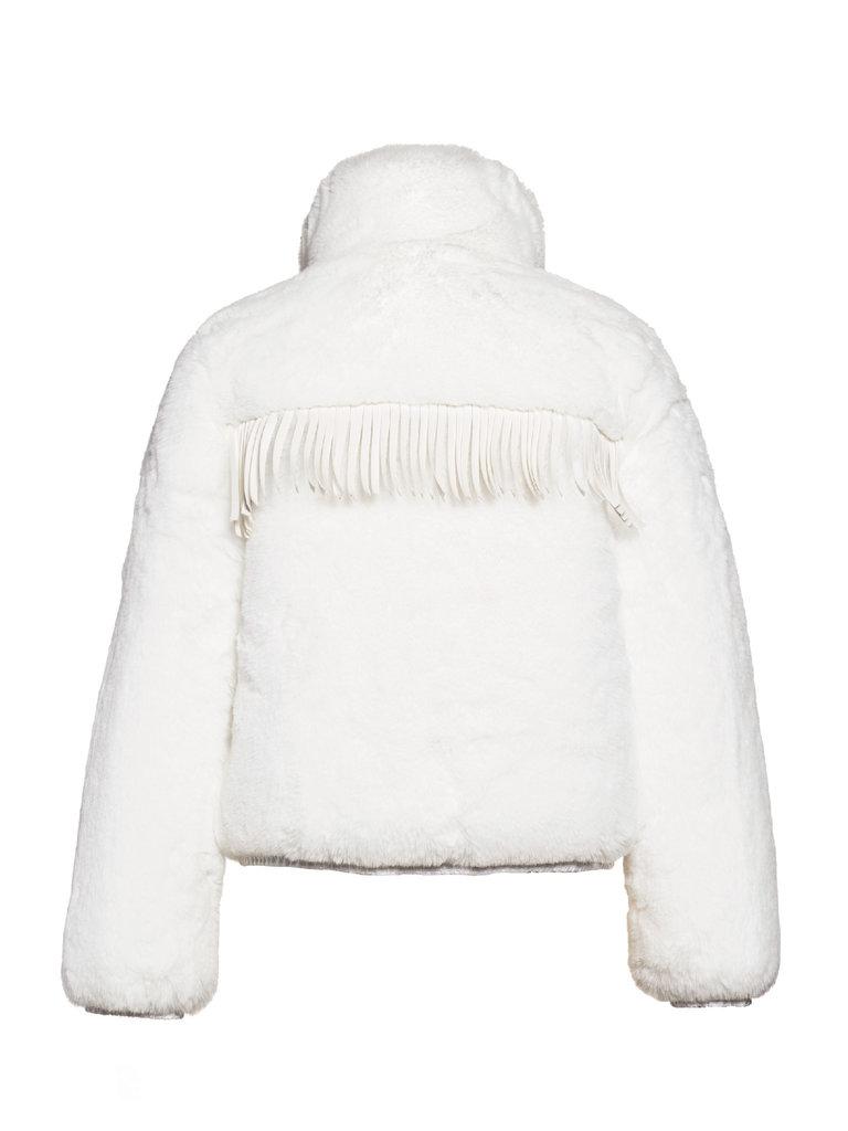 Goldbergh Goldbergh Cowboy jacket faux fur wit