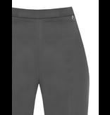 Rinascimento Rinascimento flared pantalon grijs
