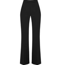Rinascimento Rinascimento flared pantalon zwart