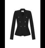 Rinascimento Rinascimento double-breasted blazer zwart