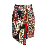 Rinascimento Rinascimento overslag rok met paisley print multicolor