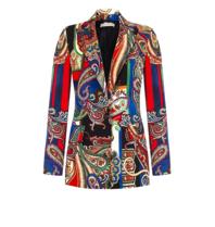 Rinascimento Rinascimento blazer met paisley print multicolor