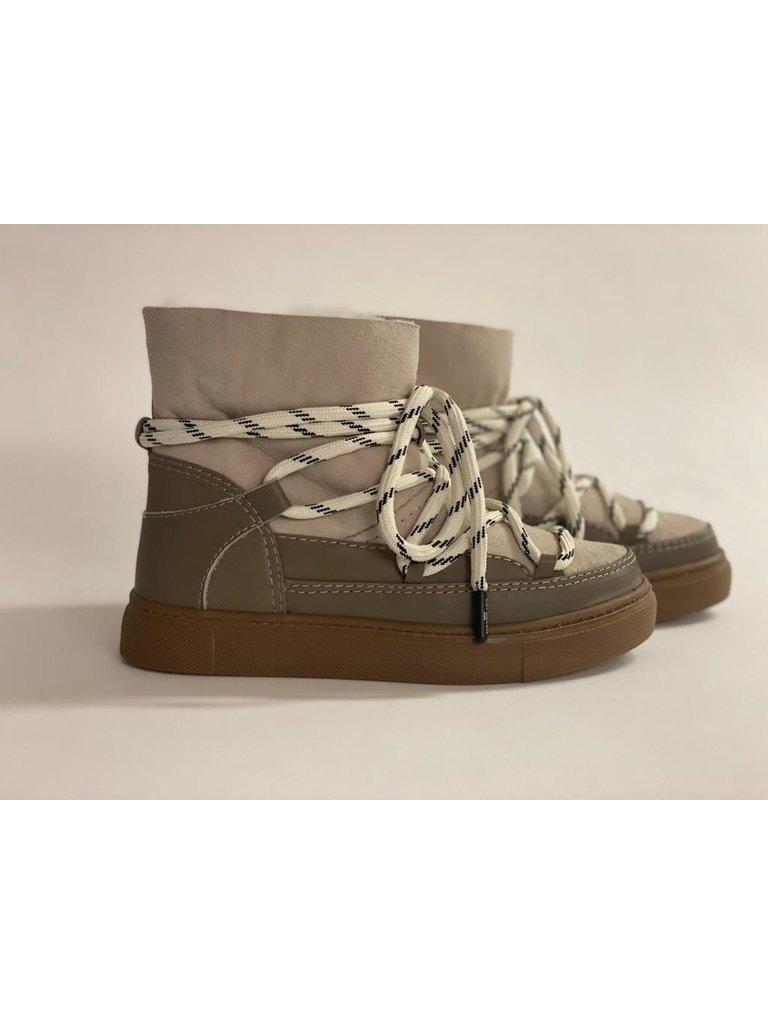 Est'seven Est'Seven Mouton boots simply taupe