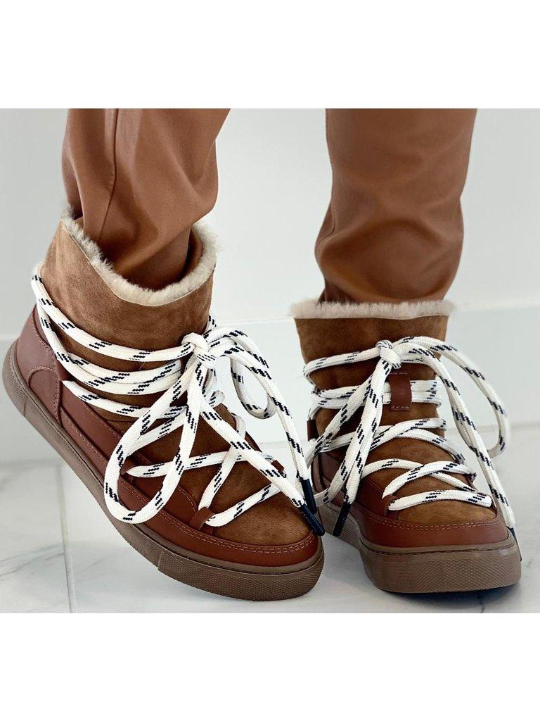 Est'seven Est'Seven Mouton boots mustang brown
