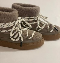 Est'seven Est'Seven Mouton boots Gurly fur taupe
