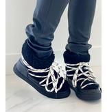 Est'seven Est'Seven Mouton boots Gurly fur black