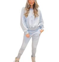 Est'seven Est'seven Olivia Sweater Light grey