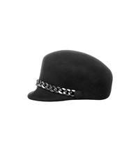 Rinascimento Rinascimento cap met kettingdetails zwart