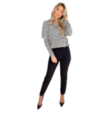 Co'couture Co'Couture Cadie puff blouse zwart