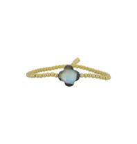Pscallme Copy of Pscallme Rome Pearl Gold Coloured armband