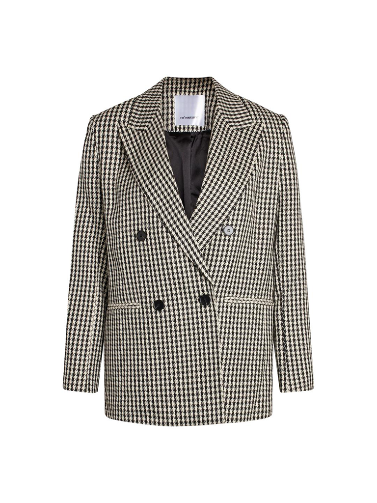 Co'couture Co' couture Blazer zwart wit