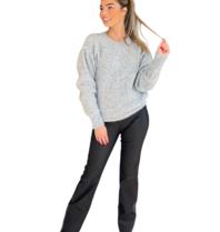 Est'seven Est'Seven Vetements knitted sweater silver grey