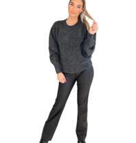 Est'seven Est'Seven Vetements knitted sweater black