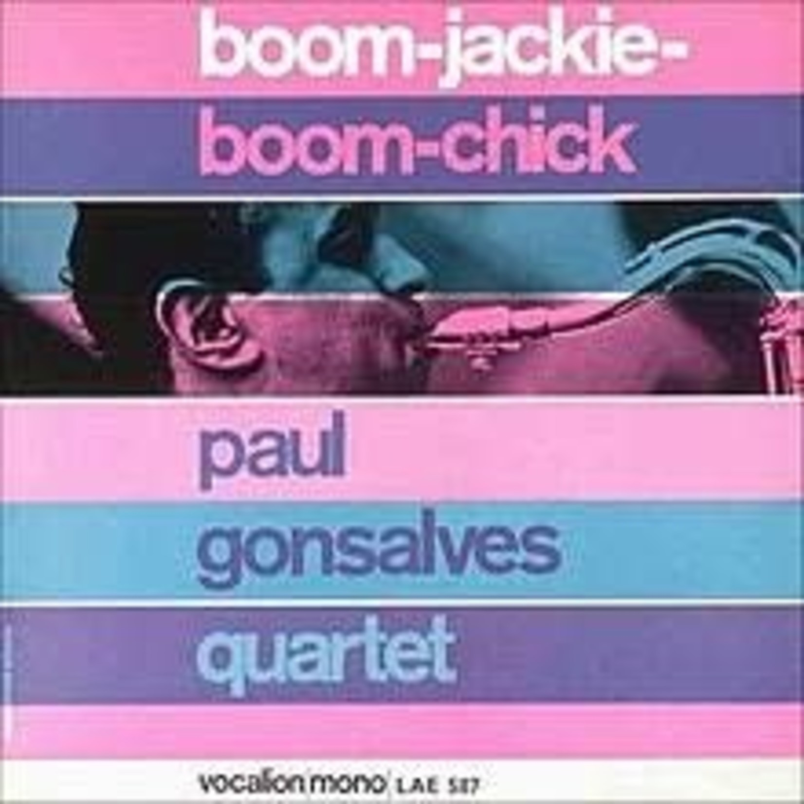 Gonsalves_ Paul Quartet - Boom-Jackie-Boom-chick   (VINYL)