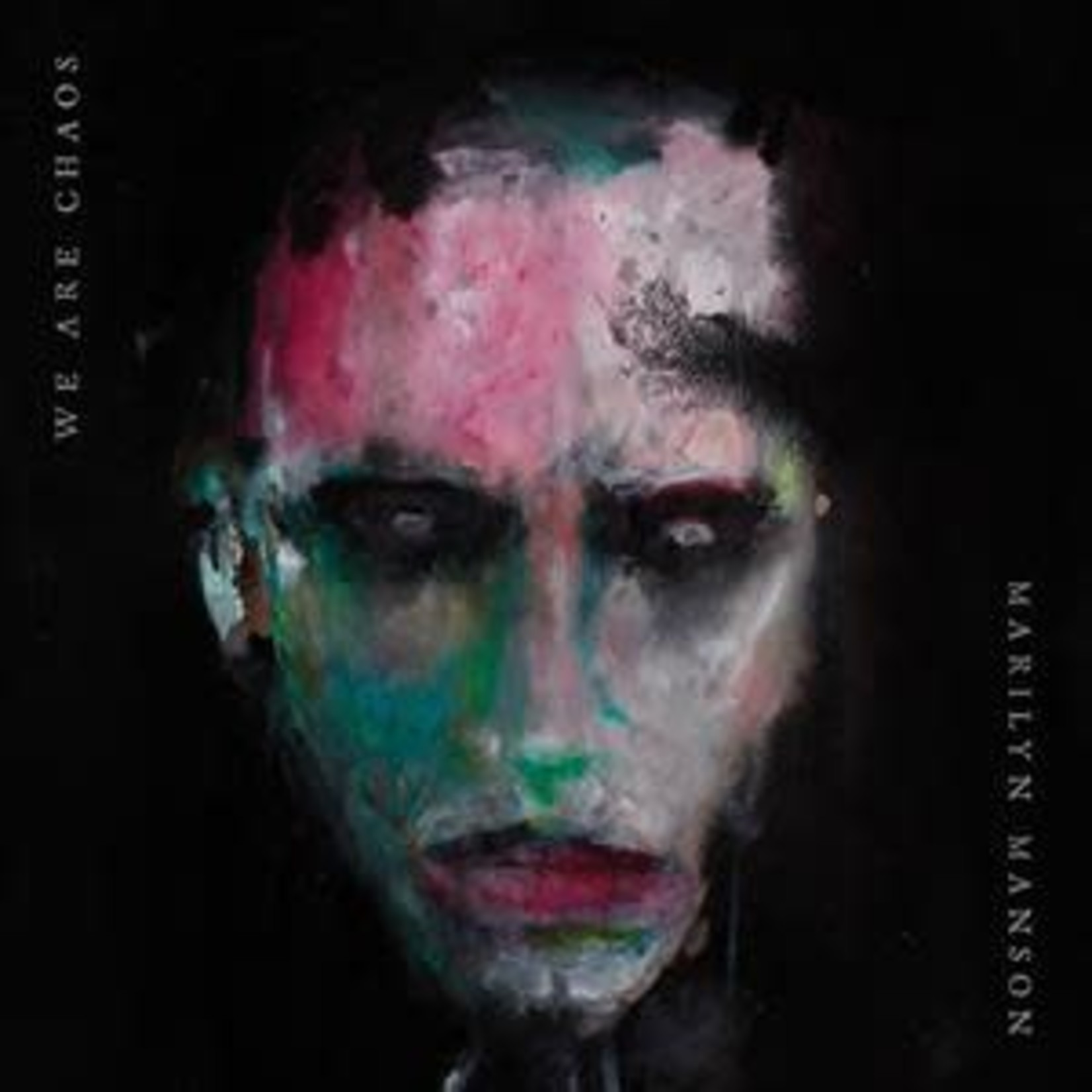 MARILYN MANSON  - We Are Chaos  Indie only / White Vinyl / Incl. Poster (Painting By Manson)   (VINYL)