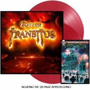 AYREON - Transitus  Red Transparent Vinyl / Incl.28pgs Comic Book (VINYL)