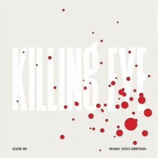 OST Killing Eve Season One  White Cover_ Clear Vinyl With Red Splatter limited edition (VINYL)