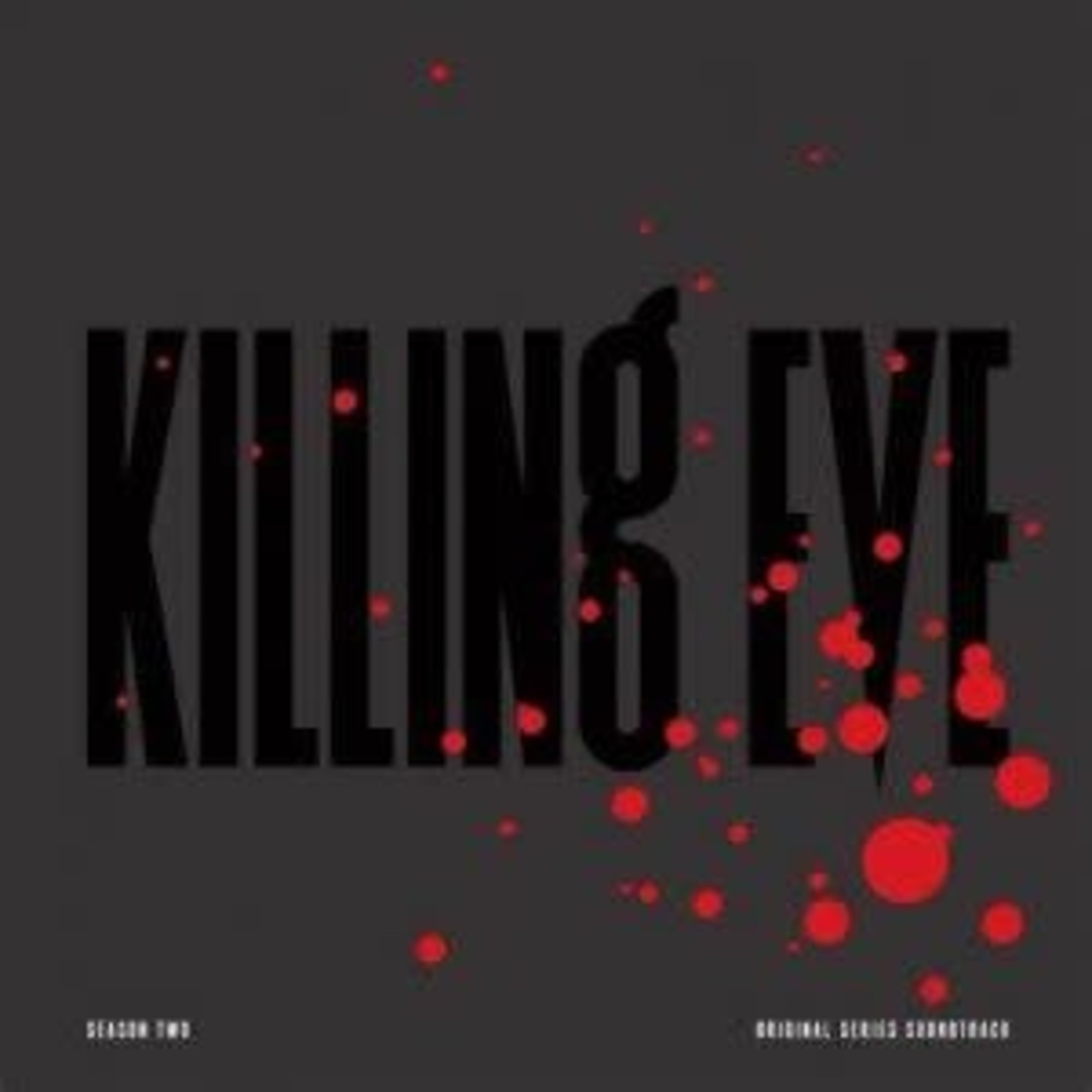 OST Killing Eve Season Two  Black Cover_ Clear Red Vinyl With Black Splatter limited edition   (VINYL)