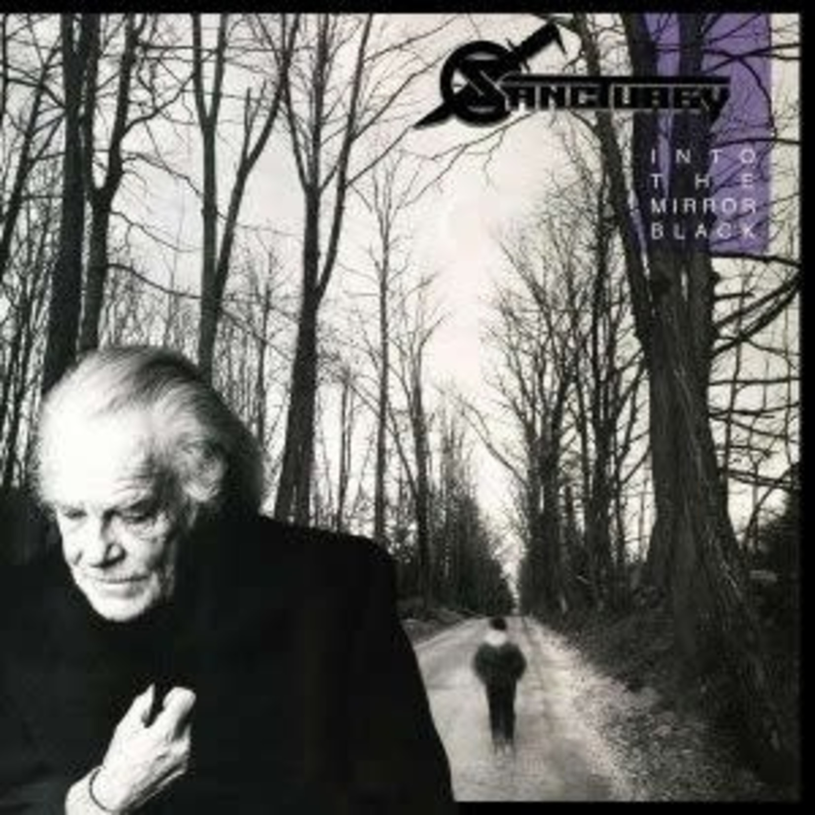 Sanctuary - Into The Mirror Black   (VINYL)