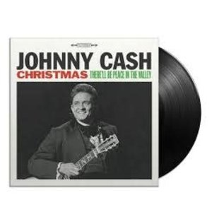 CASH_ JOHNNY - Christmas: There'll Be Peace In the Valley   (VINYL)