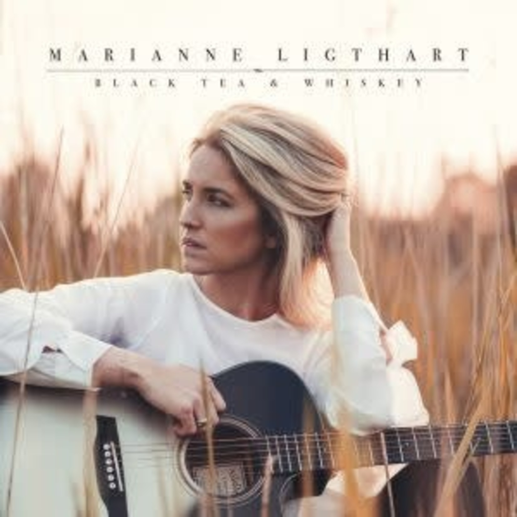 Ligthart_ Marianne - Black Tea & Whiskey (LP) incl. single Let me read you   (VINYL)