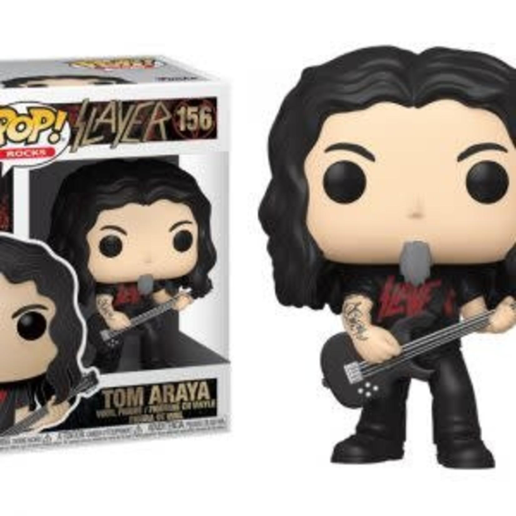 Slayer / Tom Araya POP! Rocks Vinyl Figure 9 cm nr 156