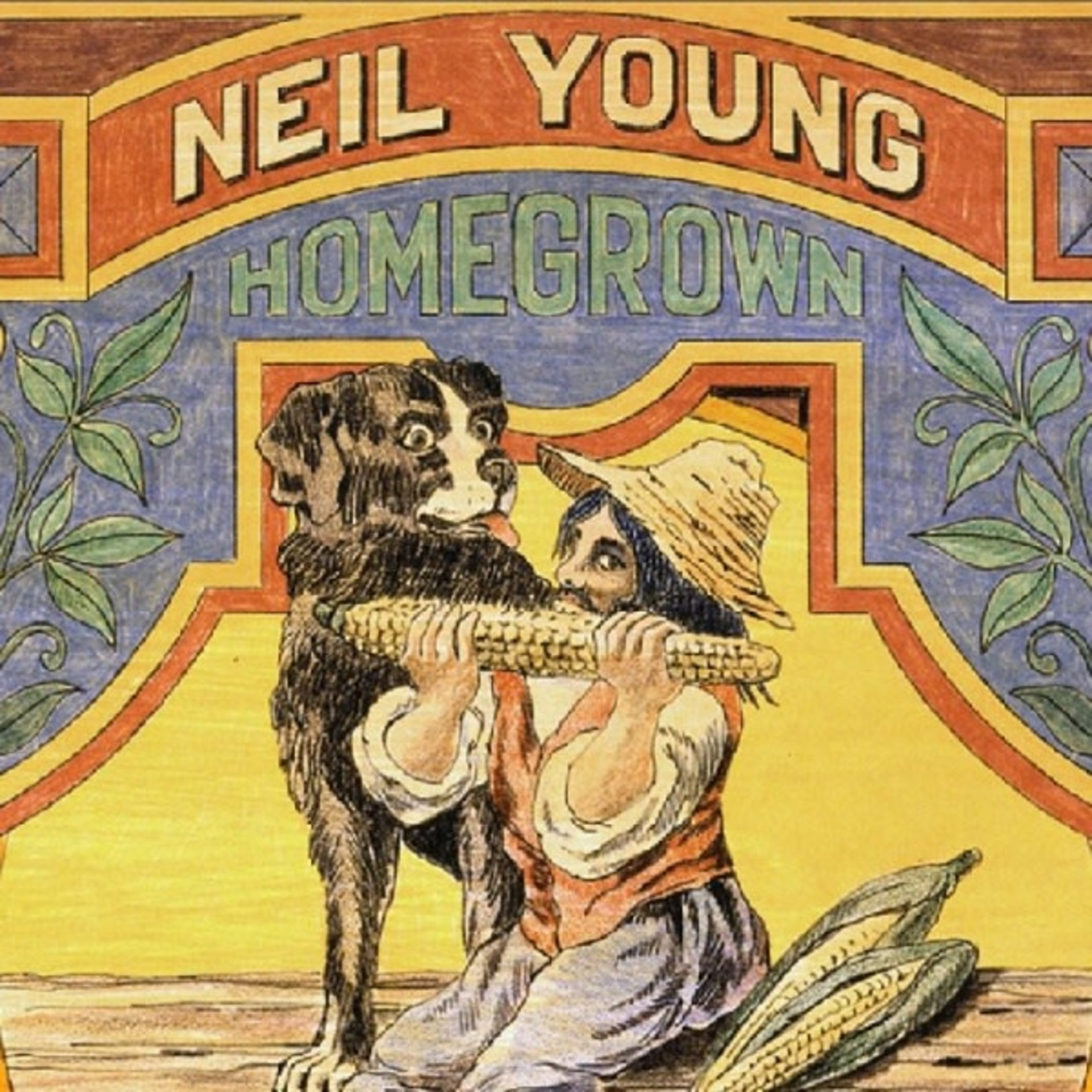YOUNG_ NEIL - Homegrown  (CD)
