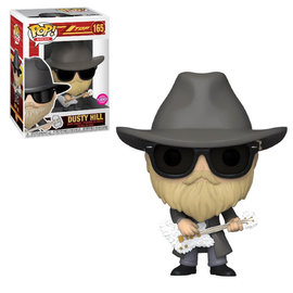 ZZ Top Dusty Hill POP! Rocks Vinyl Figure 9 cm nr 165