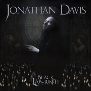 Jonathan Davis - Black.. -coloured- .. Labyrinth / Marble Smoke Colored Vinyl   (VINYL)