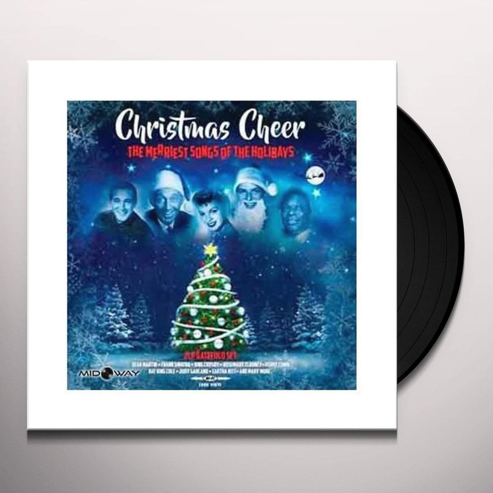 V/A - Christmas Cheer The Merriest songs of the holidays (VINYL)
