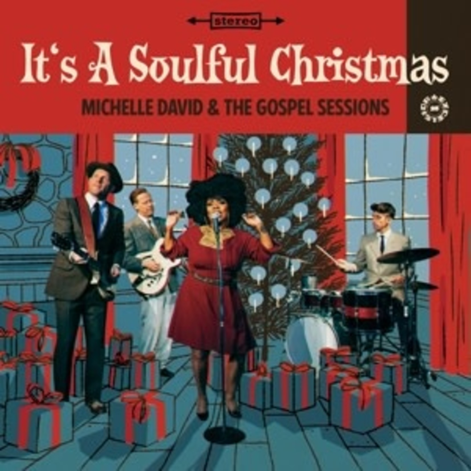 DAVID_ MICHELLE & THE GOS - IT'S A SOULFUL CHRISTMAS (CD)