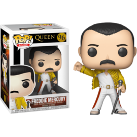 Queen POP! Rocks Vinyl Figure Freddie Mercury Wembley 1986 9 cm nr 96