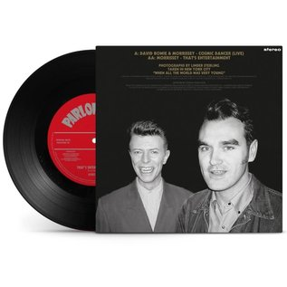 MORRISSEY & DAVID BOWIE- 7-COSMIC DANCER -INDIE-