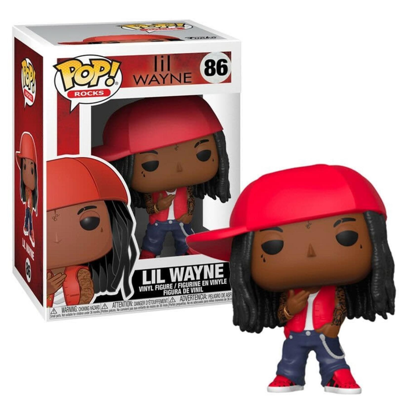 LiL Wayne POP! Rocks Vinyl Figure LiL Wayne 9 cm nr 86