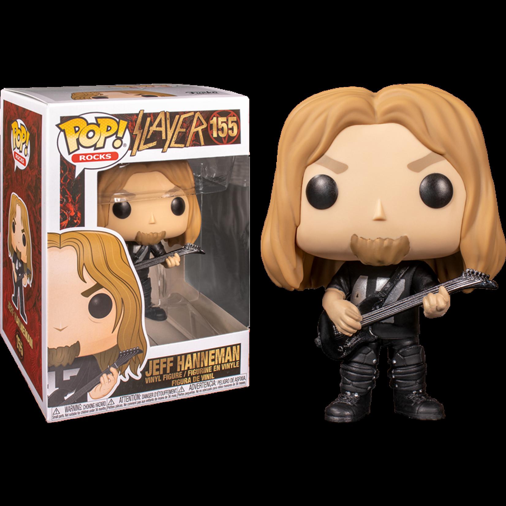 Slayer - Jeff HannemanPOP! Rocks Vinyl Figure 9 cm nr 155
