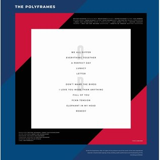 POLYFRAMES, the - We all differ (rood vinyl)