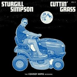 SIMPSON_ STURGILL - CUTTIN' GRASS  .Vol.2 (Cowboy Arms Sessions)/Opaque Blue/White Swirl-.. -INDIE- (VINYL)