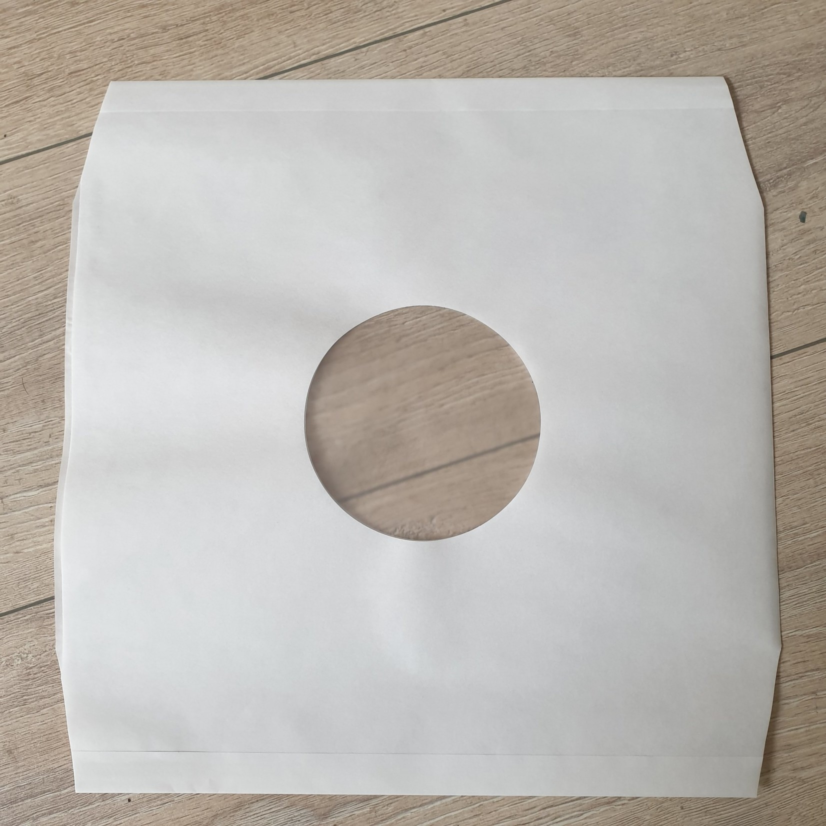LP Binnenhoezen - Wit Polybag PER STUK
