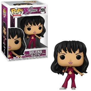 Selena POP! Rocks Vinyl Figure Selena (Burgundy Outfit) 9 cm nr. 205