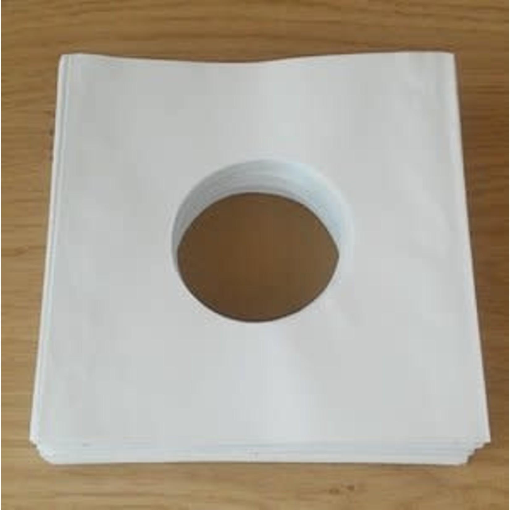 SINGLE  Binnenhoezen - wit papier