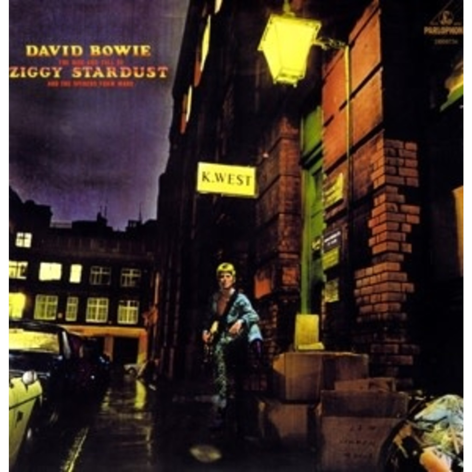DAVID BOWIE - RISE AND FALL OF ZIGGY STARDUST & SPIDERS FROM MARS (VINYL)